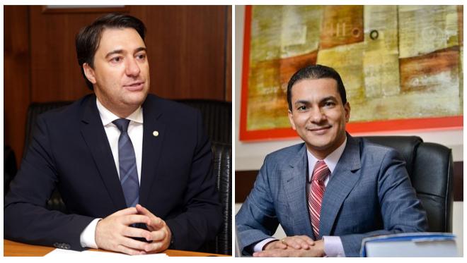 Giacobo e Ministro Marcos Pereira
